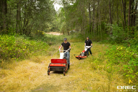 Orec's lineup of brush cutters can help you maintain a natural landscape.