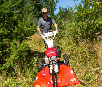 Trail maintenance with Orec