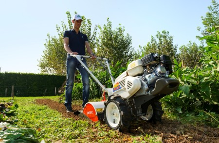 Till your soil with an Orec GardenQuake to remove your lawn so you can put in a meadow or prairie.
