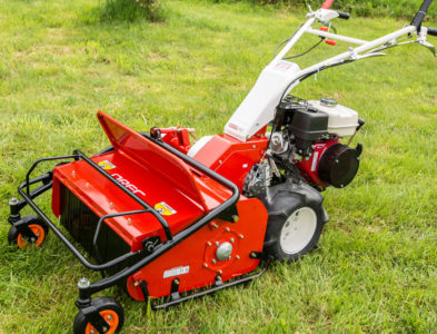 Cyclone Wheel Walk Behind Flail Brush Mower