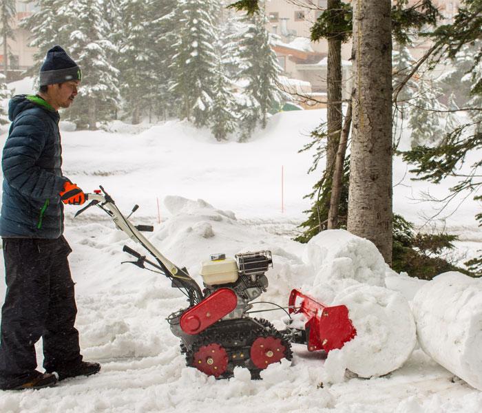 snow bull walk  snow plow orec americaorec america