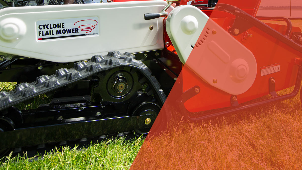 Walk Behind Flail Mower - The Cyclone | Orec America