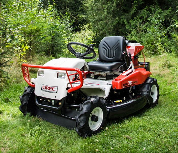Using Your Field Mower On A Slope Orec America