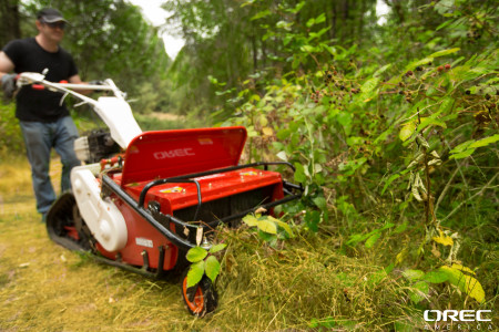 Replace those weeds with natural plants for your meadow or prairie? Use the Orec Cyclone!