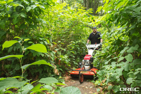 Rent equipment like Orec's Samurai Walk Behind Brush Cutter for jobs large and small.