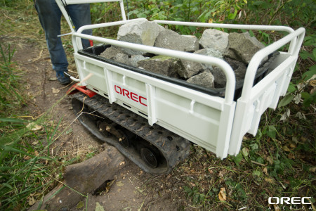Orec's Trailblazer is a great piece of rental equipment.