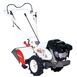 Orec's Gardenquake tiller is easy to control whether tilling or turning