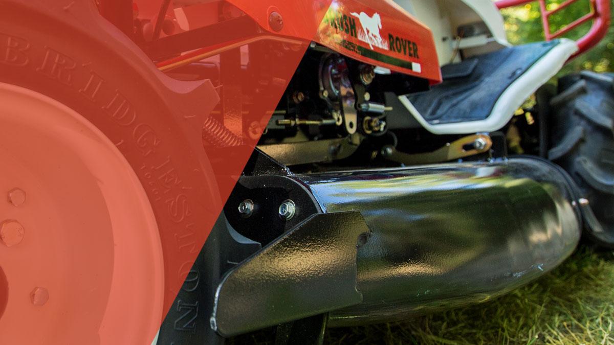 Riding Brush Mower | The Brush Rover | Orec America