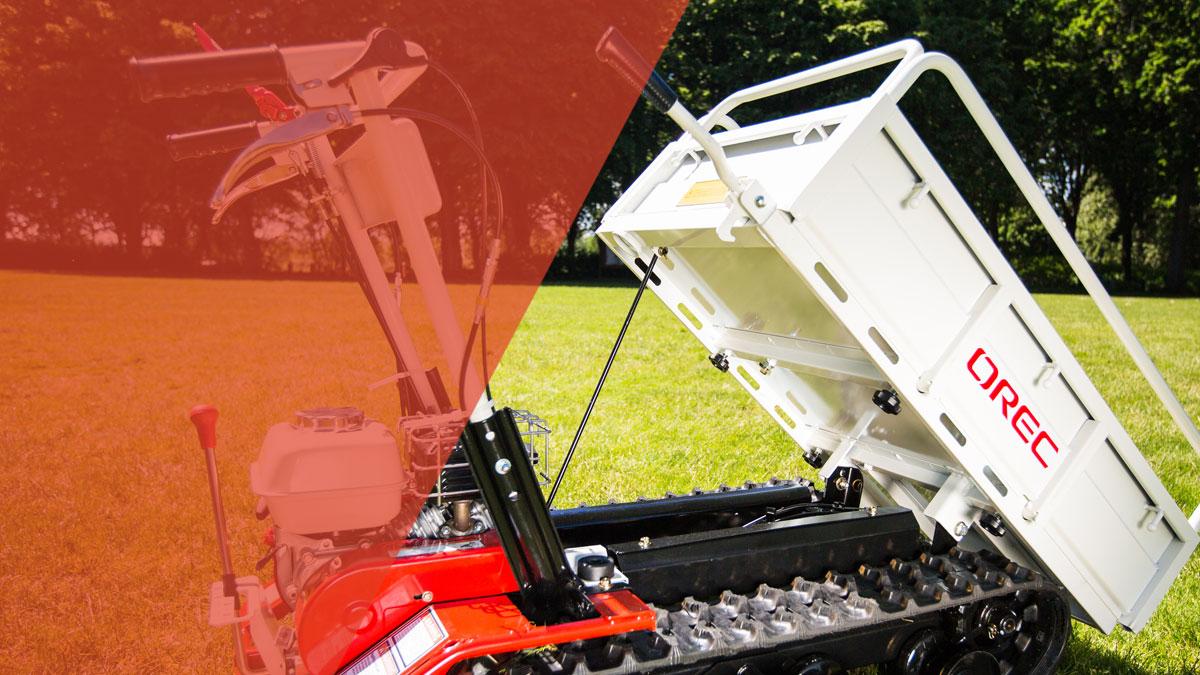 Motorized Carrier | Trailblazer Transporter | Orec America